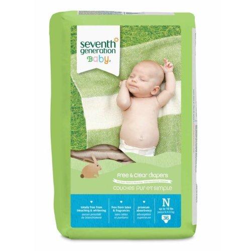 Seventh Generation Diapers Newborn