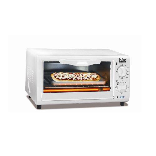 Maximatic Eka 9210xw 4 Slice Toaster Oven Broiler White