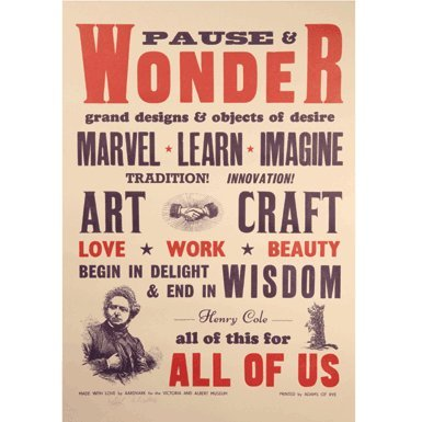 Pause and Wonder'' by Aardvark (Print)||EVAEX