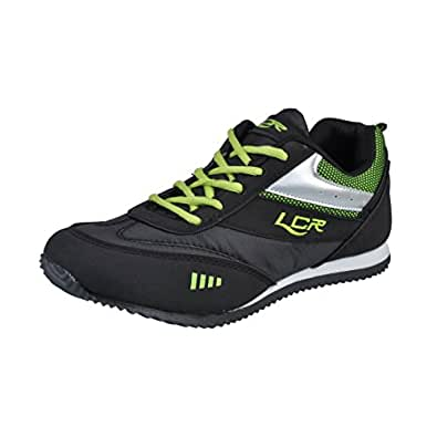 lancer s perth 2 black synthetic sports running shoes