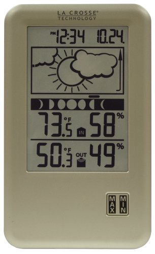 Cheap La Crosse Technology WS-9060U-IT Wireless Forecast Station with Moon Phase, In/Out Temperature & Humidity (WS-9060U-IT-CBP)
