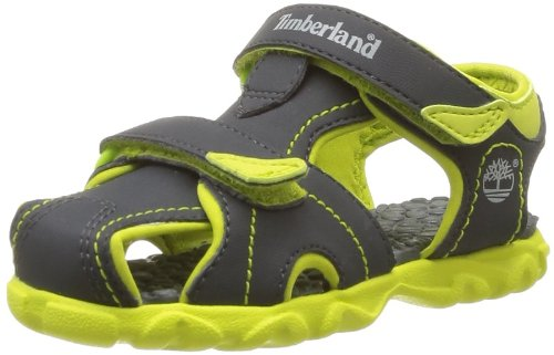 Timberland Unisex-Child Splashtown Closed Toe Fashion Sandals C78X3R Dark Grey 9.5 UK Child, 27 EU