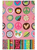 Amscan 190118 Hippie Chick Tablecover