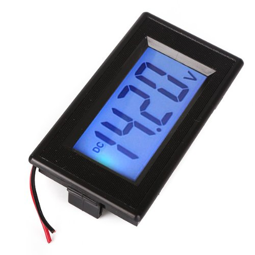 Generic High Accuracy Dc 40-100V Lcd Digital Voltage Panel Meter Voltmeter 2 Wire
