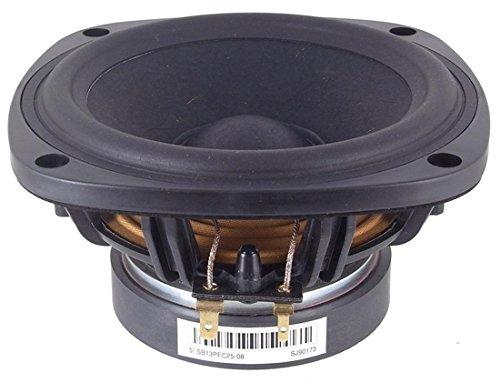 "Sb Acoustics Sb13Pfc25-04 5"" Paper Cone Woofer - 4 Ohm"