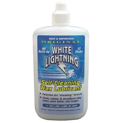 White Lightning Clean Ride Original Self-Cleaning Wax Bicycle Lubricant - 8 oz. - W50080102