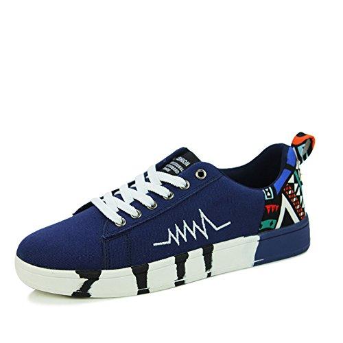 YUE Chaussures de loisirs et de sports d'été/Chaussures tendance respirant/Ondes de choc sauvages sur les chaussures d'été