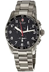 Victorinox Swiss Army Men's 241261 Classic Chronograph Black Dial Watch