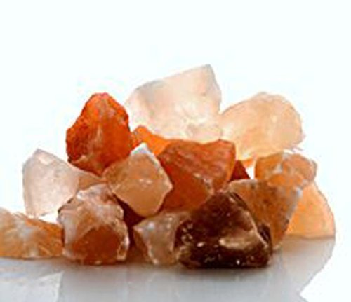 The Spice Lab 2.2 Pounds (1 Kilo bag) - Himalayan Crystal Salt Stones - Great for your next Bath