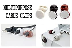 PINDIA CABLE HOLDER & ORGANISING CLIPS FOR WIRES & CABLES