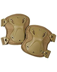 Spec Ops Tactical Knee Pads Military Army Armoured Coyote Sand SAS by Hunting and Military Store