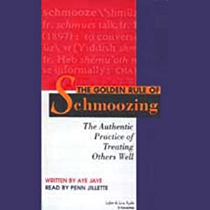 The Golden Rule of Schmoozing Audiobook