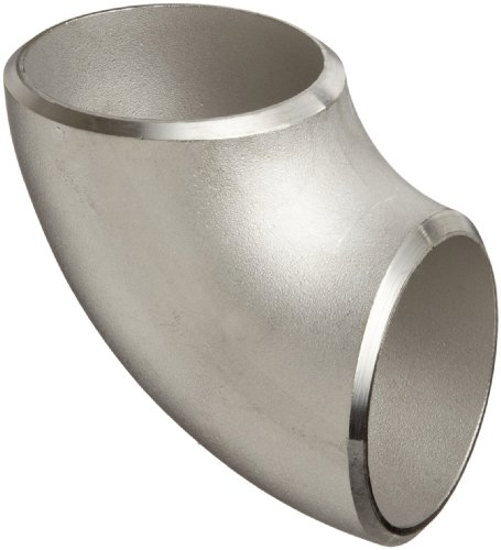 Stainless steel l butt weld pipe fitting short