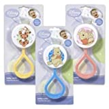 Disney Baby Winnie the Pooh Baby Rattle (Styles May Vary)