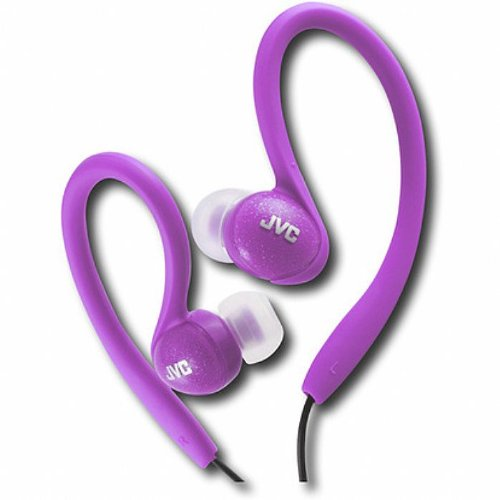 Jvc Haebx85V Inner Ear Sports Clip Headphone (Violet)