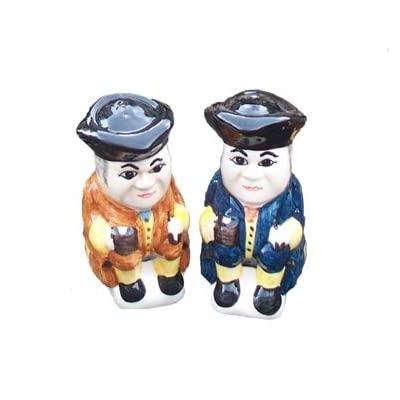 Mini Toby Jug Salt and Pepper Set by Babbacombe Pottery
