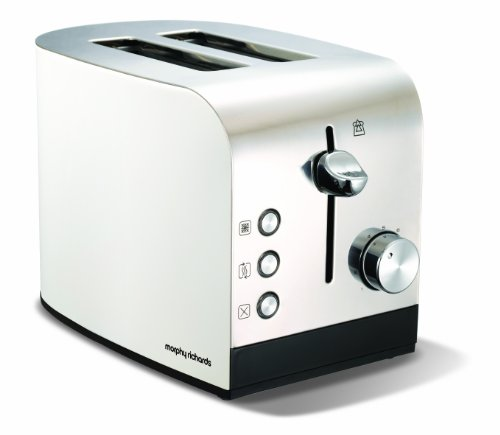 Morphy Richards Accents 222051 2 Slice Toaster - White from Morphy Richards Ltd