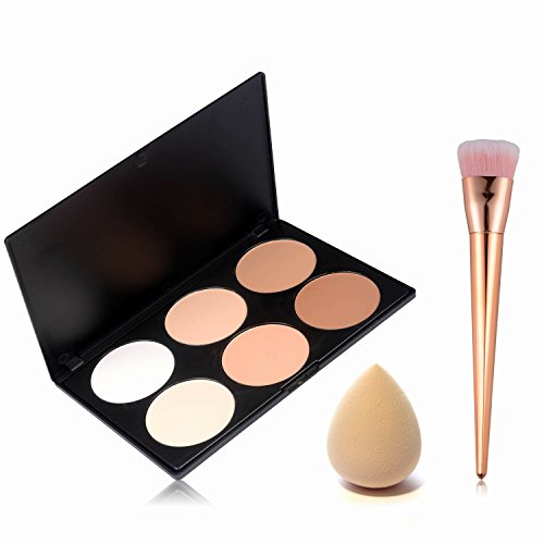 start-makers-polvere-contouring-kit-6-colori-concealer-palette-correttore-make-up-trucco-viso-concea