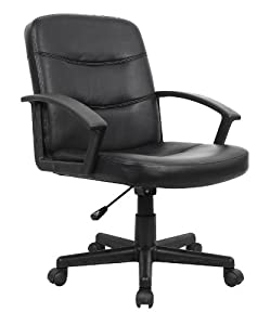 Eliza Tinsley Medium Back PU Manager's Chair