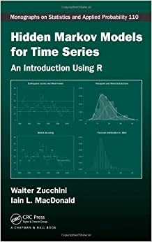 amazoncom hidden markov models for time series an