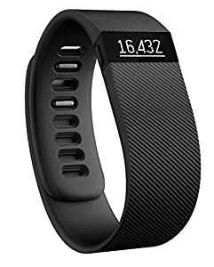 Fitbit Charge Wireless Activity with Sleep Wristband - Black, Small