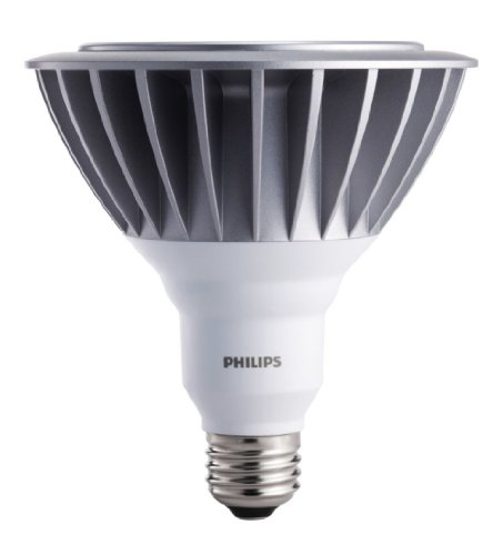 Philips 418434 Dimmable Ambientled 17-Watt Par38 Outdoor Flood Light Bulb