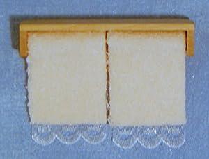 Dolls Houses - Accessories - D1584 - Towel Rail & Towels