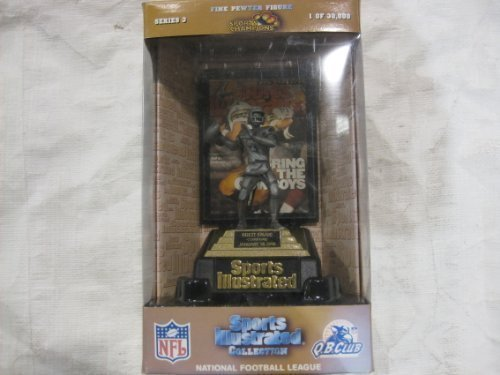 NFL Green Bay Packers Brett Favre Collectible Series #3 3.86 Troy Ounces Of Fine Pewter From Sports Illustrated With Miniture Cover Date January 15, 1996 Limited Edition #5,227 Of 30,000 With Certificate Of Authenticity by Football online bestellen