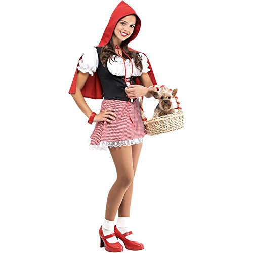 Teen Little Red Riding Hood Costume (Size: Junior Teen 7-9) (Red Riding Hood Cape For Teens compare prices)