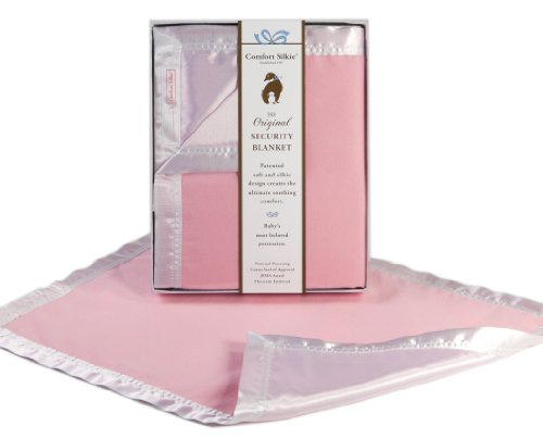 Pink COMFORT SILKIE Security Blanket ~ The Original. The Best. Award Winning.