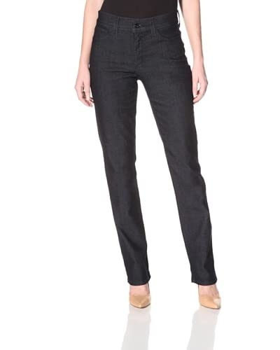 Not Your Daughter's Jeans Women's Marilyn Straight Jean  - Dark Enzyme