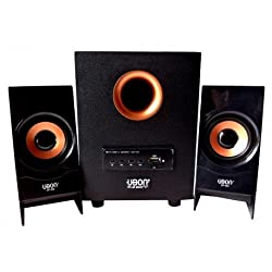 UBON CP-302 2.1 Wood Multimedia Home Theater - Powerful Sound