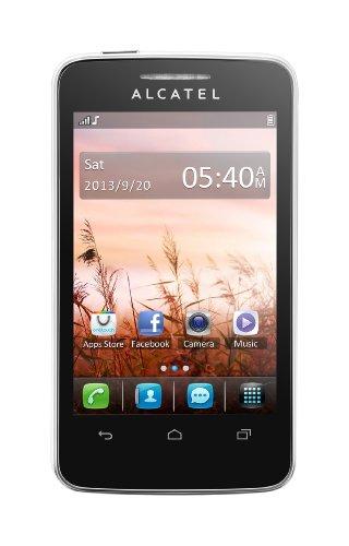 Alcatel 3040D One Touch Tribe Smartphone, Dual SIM, 3.5 Pollici, Wi-Fi, White [Italia]