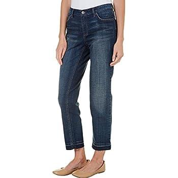 Vintage America Womens Light Wash Boyfriend Jeans