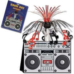 Boom Box Centerpiece Party Accessory (1 count) (1/Pkg)
