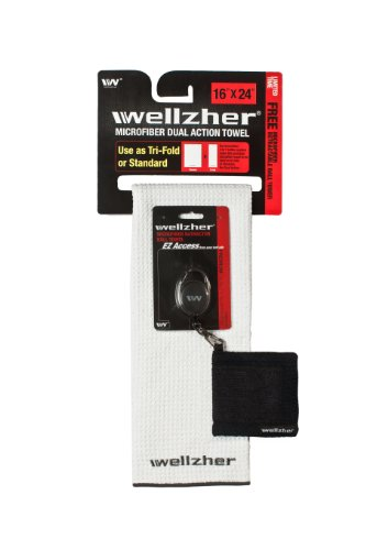 wellzher-premium-microfiber-dual-action-golf-towel-white