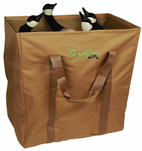 Best Price! Tanglefree Waterfowl Full Body 6 Slot Open Top Duck and Goose Decoy Bags, Dirt