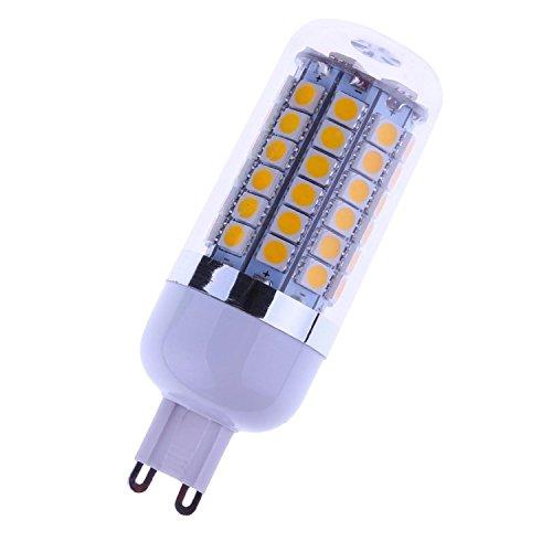 Cozyswan® Brand New Warm White Light Bulb 8W Led Corn Bulb 110V G9 Base 69 Smd 5050 8W 1000Lm 2800-3200K