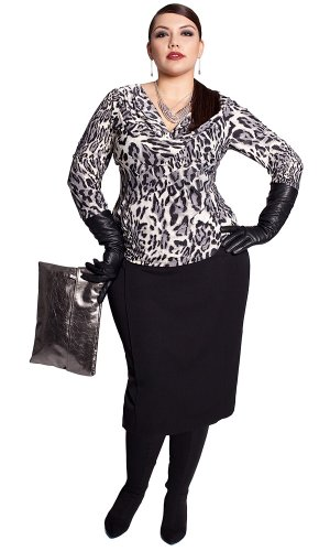 Cheap IGIGI by Yuliya Raquel Plus Size Monroe Skirt