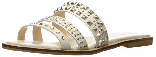 Nine West Women's Jellybean Leather dress Sandal, Off White, 8 M US (Jelly Bean Sandals For Women compare prices)