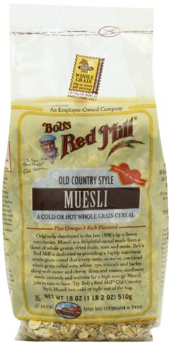 Bob's Red Mill Cereal Muesli,  4 - 18-Ounce Bags
