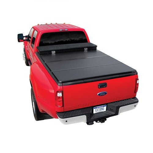 Extang 84940 Tonneau Cover - Solid Fold 2.0 Toolbox Series - Fits Chevy/GMC Silverado/Sierra (6 1/2 ft) 99-06, 07 Classic (incl HD) (Toolbox For Chevy Silverado compare prices)