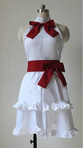 Vicwin-One Fairy Tail Wendy Marvell White Dress Cosplay Cosplay Costume Outfits