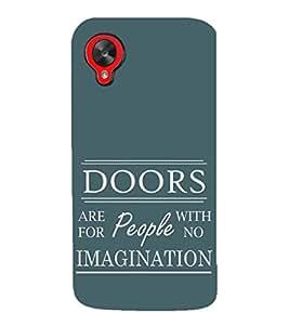 EPICCASE Imagination Mobile Back Case Cover For LG Google Nexus 5 (Designer Case)