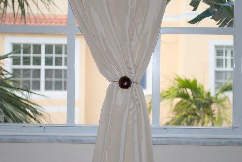 ... Curtain Clips, Magnetic Buckle Tieback, Creative Curtain Holdback New