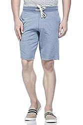 Tinted Men's Cotton Polyester Shorts TJ4201-MBLUE-L