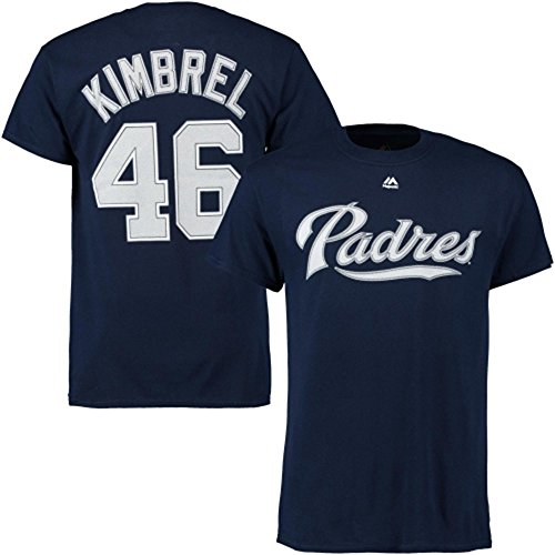 цена  Craig Kimbrel San Diego Padres Navy Jersey Name and Number T-shirt  онлайн в 2017 году