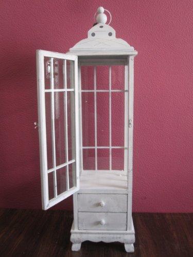holz laterne antik wei riesige 126 cm gro tolle deko. Black Bedroom Furniture Sets. Home Design Ideas