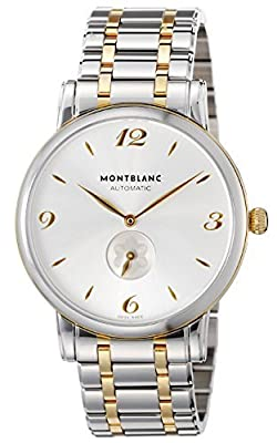 [Mont Blanc] MONTBLANC watch STAR silver dial automatic winding 107914 Men's parallel import goods]