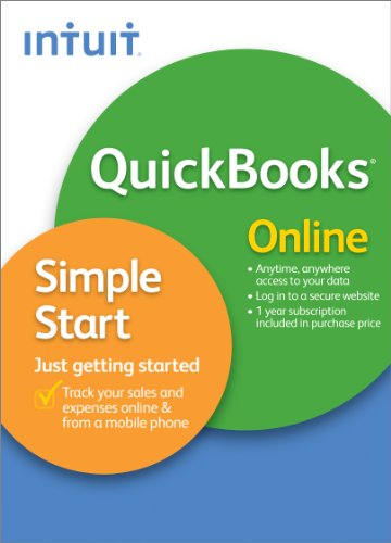 QuickBooks Online Simple Start - 1 Year Subscription